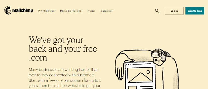 MailChimp - marketing tools for small business