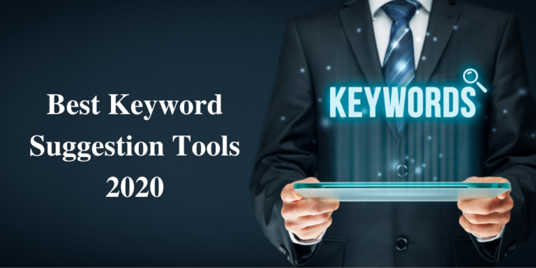 Best Keyword Suggestion Tools 2020
