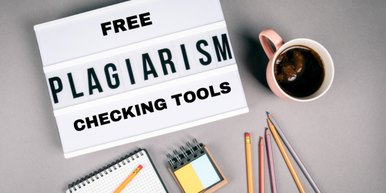 Free Plagiarism Checking Tools