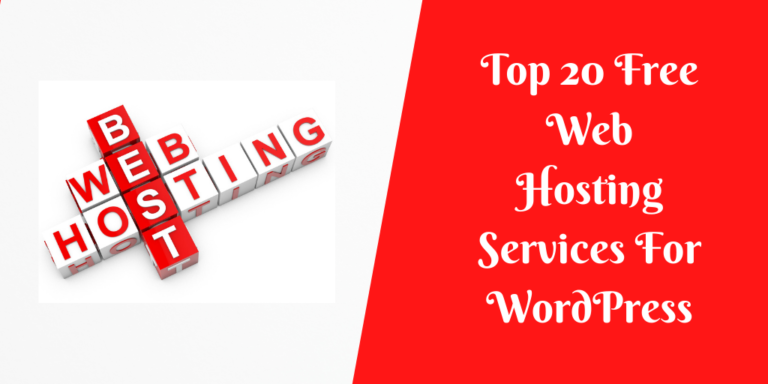 Top 20 Free Web Hosting Services For WordPress