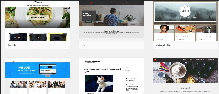 Select WordPress Theme - SiteGround