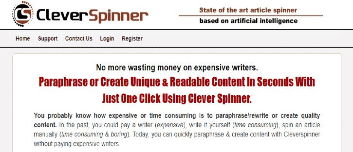 CleverSpinner - Article Rewriter Tools