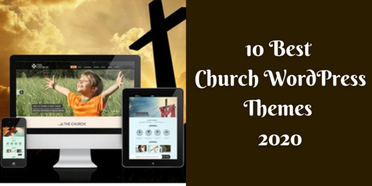 10 Best Church WordPress Themes 2020