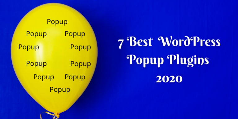 7 Best WordPress Popup Plugins 2020