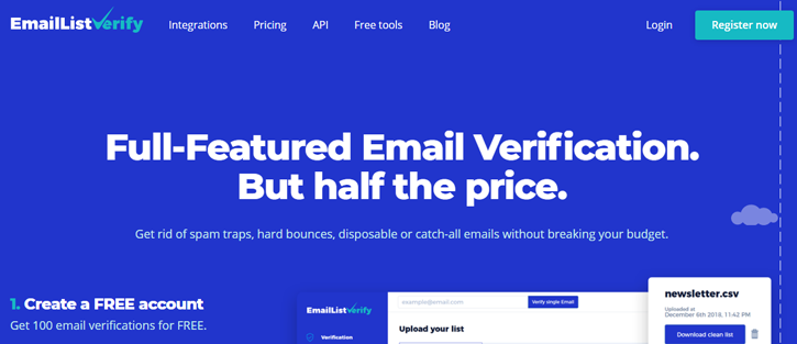 EmailListBerify  - email verification services