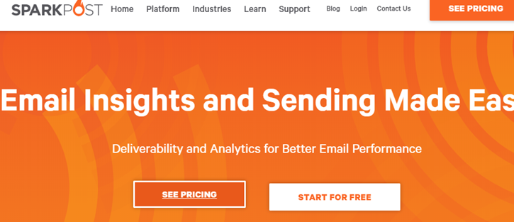 Sparkpost - Email Marketing Services