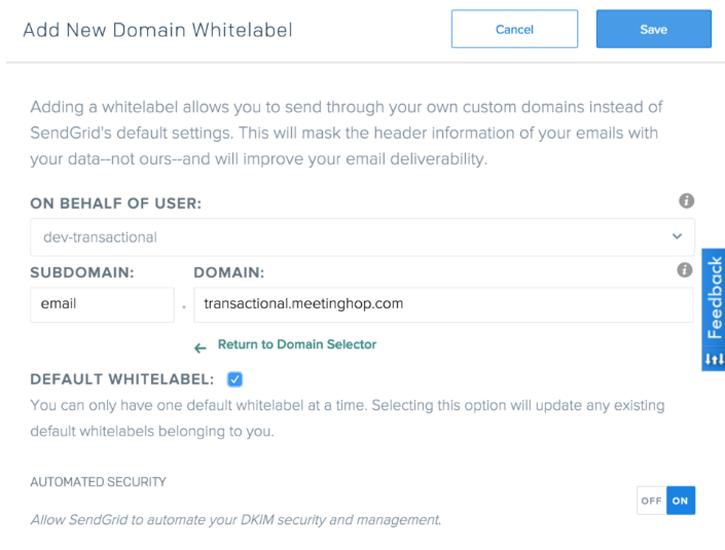 Whitelabel Domains - White Label email marketing