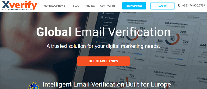 XVerify - email verification services
