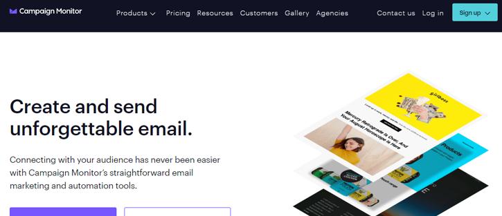 Campaign Monitor - best MailChimp alternatives