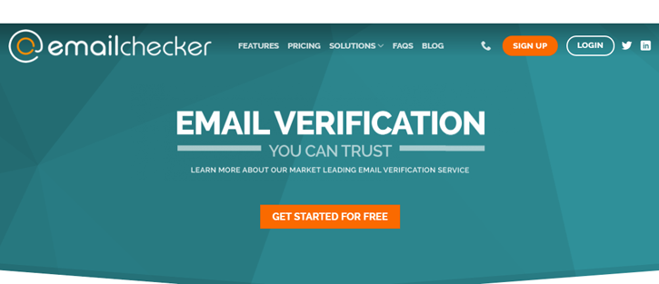 EmailChecker - email verification services