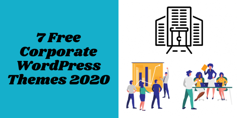 7 Free Corporate WordPress Themes 2020