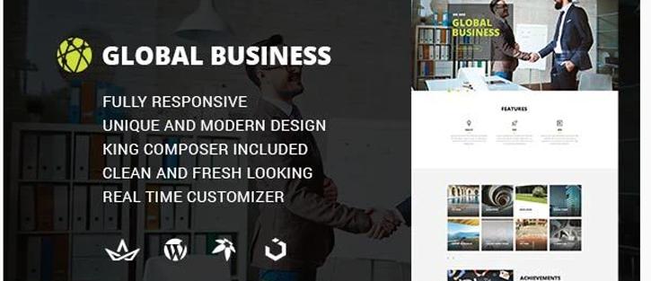 GB - Multipurpose Global Business WordPress Theme