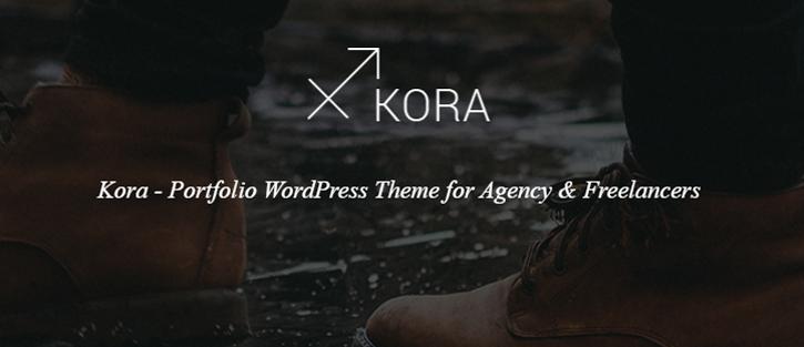 Kora WordPress Theme