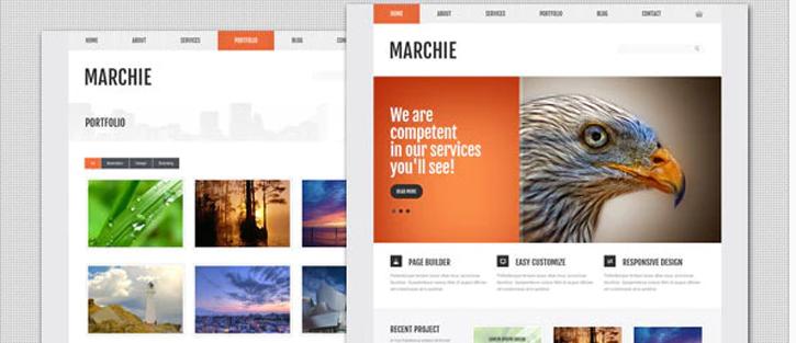 Marchie - Corporate Business WordPress Theme