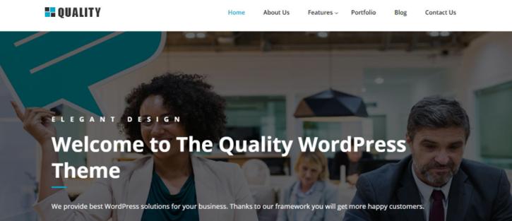 QUALITY - Corporate WordPress Themes