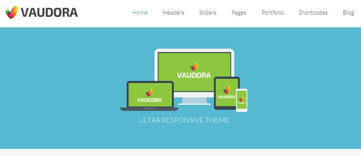 Vaudora Premium WordPress Theme