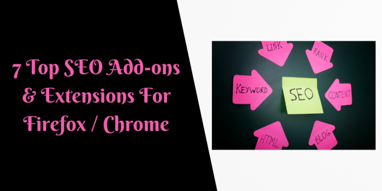 7 Top SEO Add-ons & Extensions For Firefox _ Chrome