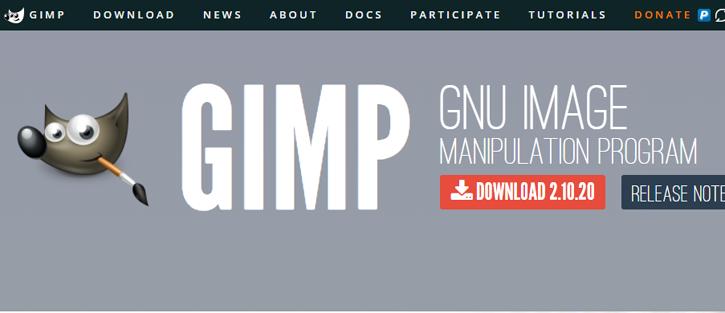 GIMP - photoshop alternatives