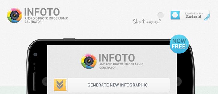 InFoto - best infographic tools