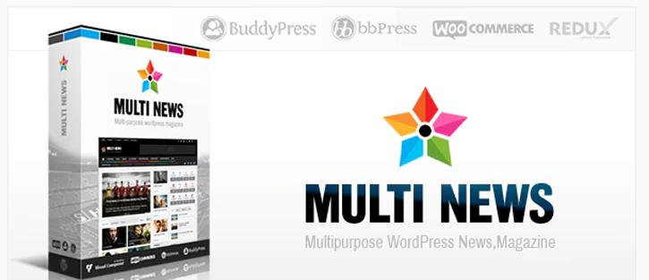 Multinews - WordPress News Themes