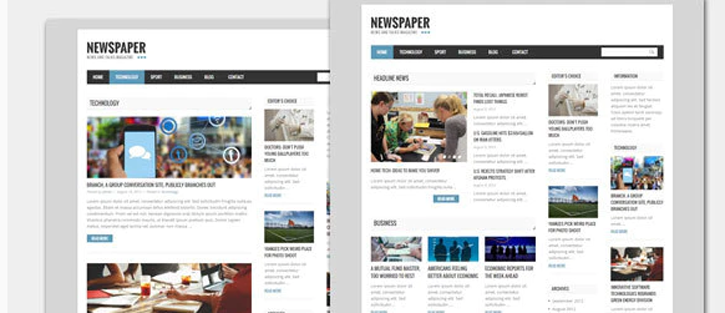 Newspaper - Blog & Magazine WordPress Theme