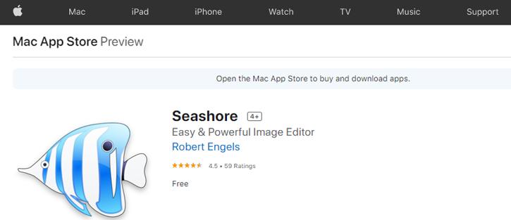 Seashore - photoshop alternatives
