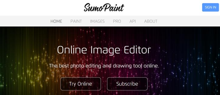 SumoPaint - photoshop alternatives