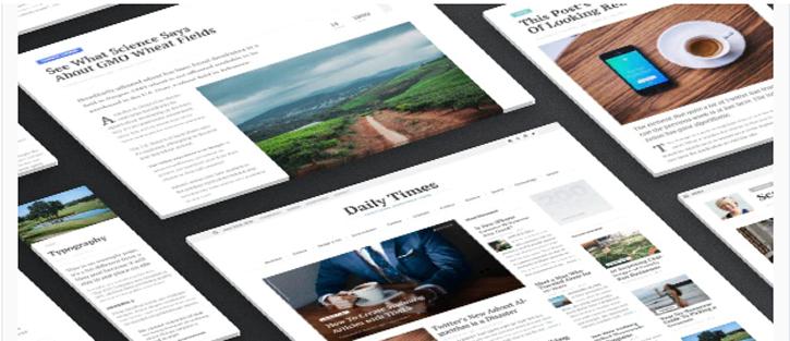 TIMES - WordPress News Themes