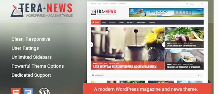 TeraNews - Responsive WordPress Magazine Theme
