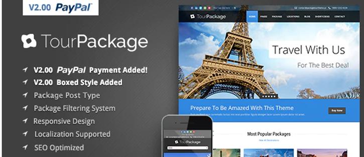 Tour Package - WordPress Travel Theme