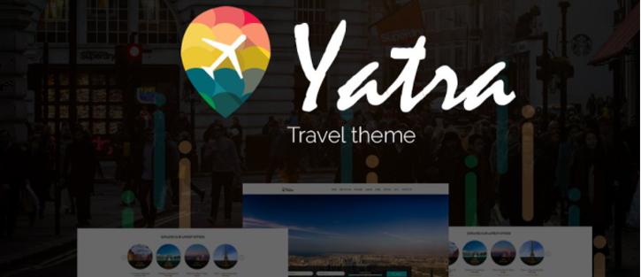 Yatra-Travel Booking WordPress Theme