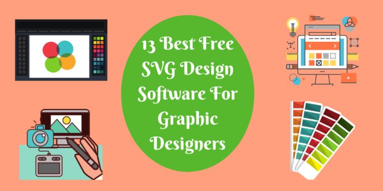 13 Best Free SVG Design Software For Graphic Designers