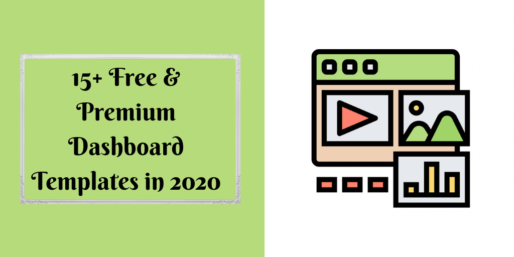 15+ Free & Premium Dashboard Templates in 2020