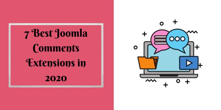 7 Best Joomla Comments Extensions in 2020