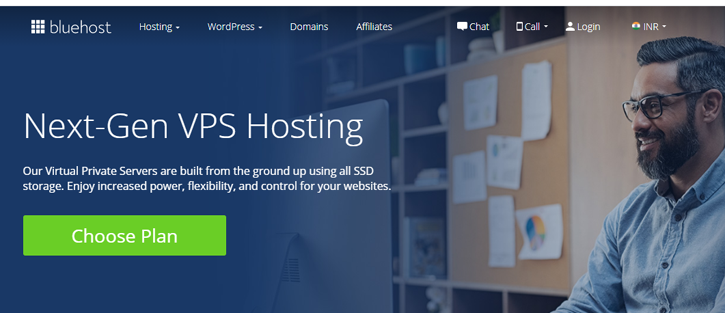 Bluehost VPS - vps hosting services