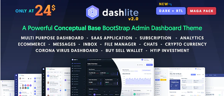 DashLite - Dashboard