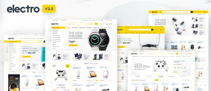 Electro Electronics - Best eCommerce Theme