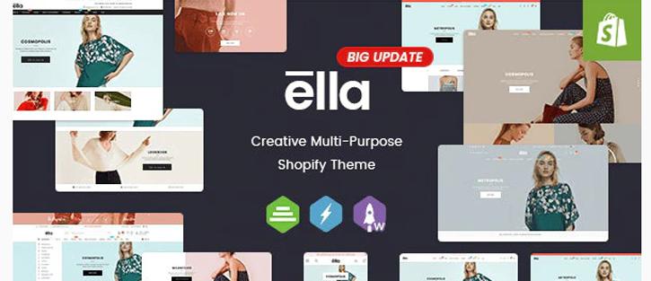 Ella - best shopify theme