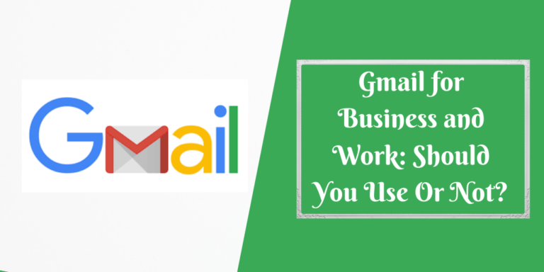 Gmail for Business : Should You Use Or Not_