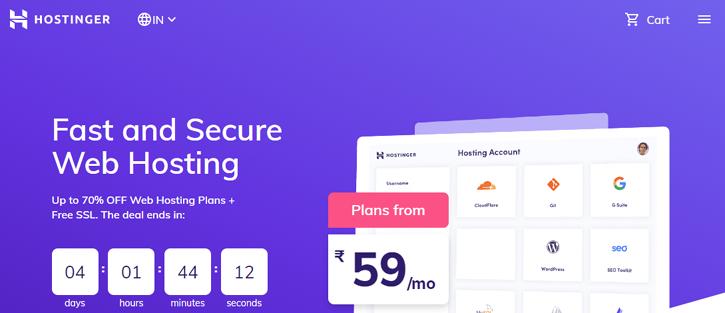 Hostinger - Web Hosting