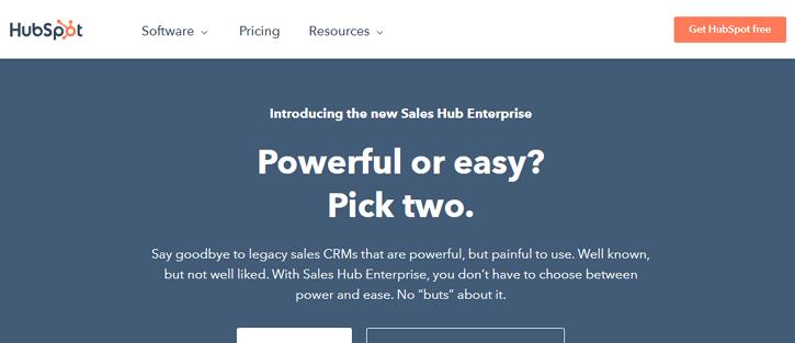 HubSpot - marketing automation tools
