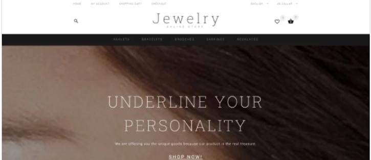 Jewelry - best shopify theme