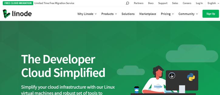 Linode - vps hosting services