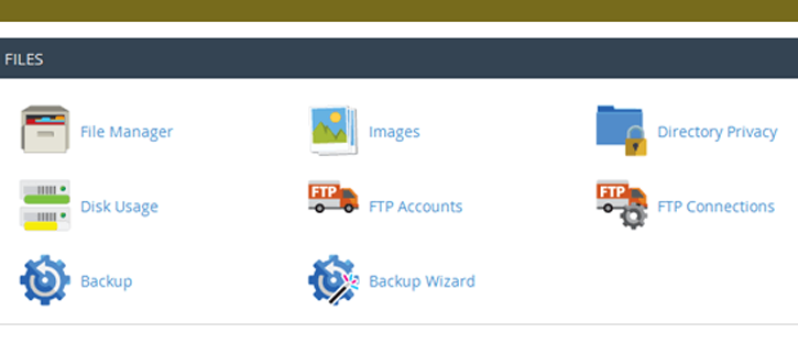 Managing Files with cPanel