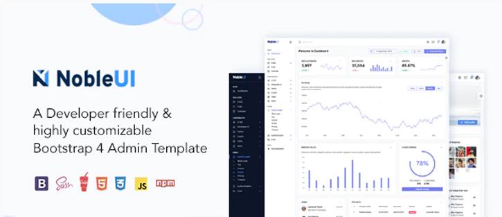 NobleUI - Admin & Dashboard Template