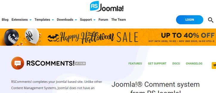 RSComments - best joomla comments extensions