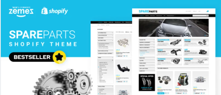 Spare Parts - best shopify theme