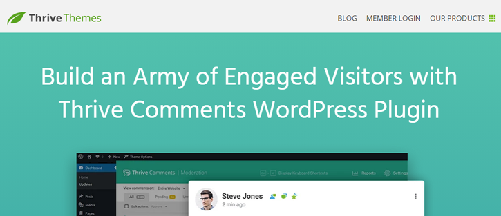 Thrive Comments - alternative comment system for WordPress