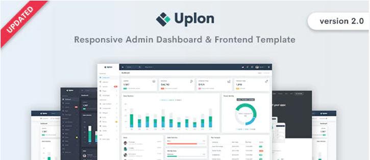 Uplon - Admin & Dashboard Template