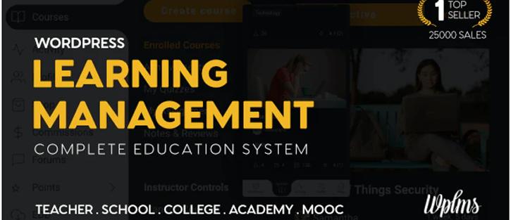 WPLMS Education Theme